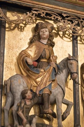 Heiliger Martin mit Bettler Meckfelder Altar