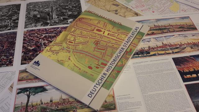 Historischer Städteatlas Mühlhausen Foto Anke Pfannstiel c Stadt Mühlhausen